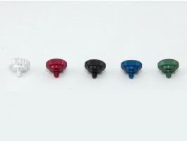 Mini Release in de kleuren Chroom, Rood, Zwart, Blauw en Groen