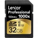 Lexar SDHC PRO 32GB 1000X UHS-II