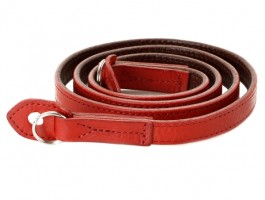 Artisan & Artist ACAM 280 ITALIAN LEATHER CAMERA STRAP Rood